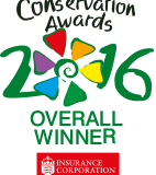 Jersey Mencap awarded overall winner in the 2016 The Insurance Corporation Conservation Awards!